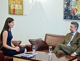 About my meeting with Marius Lazurca, ex-Ambassador of Romania in Chisinau